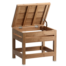 Bamboo-vanity-stool