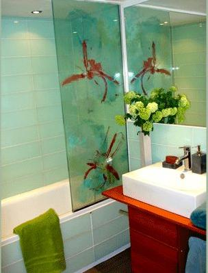 Shower-screen-organza-and-glass
