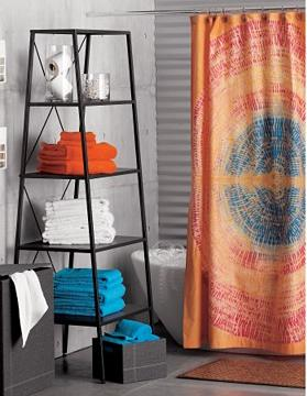 Charmant Keeping It Realtor Colourful Shower Curtains