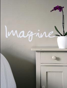Imagine-wall-sticker