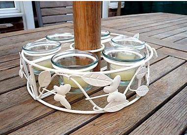 Parasol-tea-light-holder