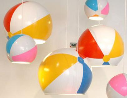 Beach-ball-lamps
