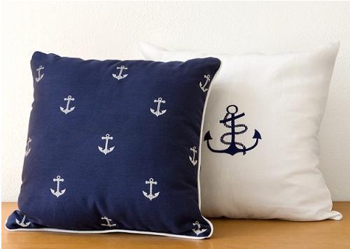 Anchor-accent-pillows
