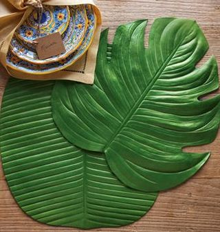 Leaf-placemats