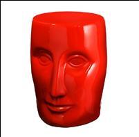 Ceramic-stool