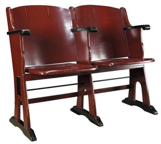 Red-theatre-love-seat