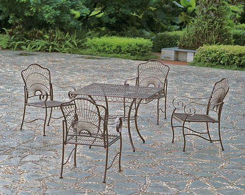 Wrought-iron-patio-set