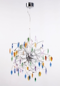 Keeping it realtor modern coloured crystal ceiling light coloured crystal ceiling light aloadofball Image collections