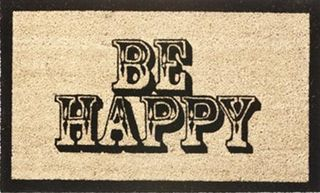 Be-happy-doormat