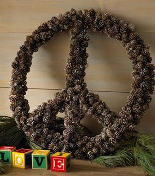 Peace-wreath