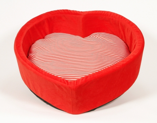 Heart Shaped Doggy Bed.