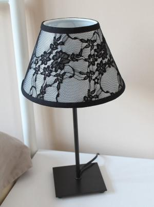 Keeping it realtor black lace lamp for any room aloadofball Image collections