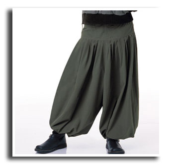 in the 80s clothes of the eighties mc hammer pants