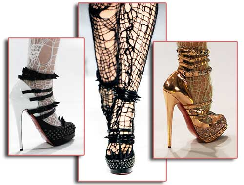 Images from Obsessed with Shoes. Louboutin for Rodarte most perfect platform ...