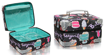 Betseyville By Betsey Johnson Ice Cream & Cakes Cosmetic Bag Set ...