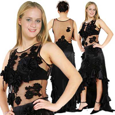 Design your own prom dress - black prom dresses